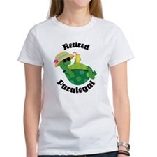 Retired Paralegal Gift Tee