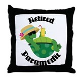 Retired Paramedic Gift Throw Pillow