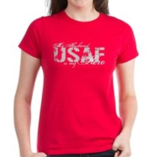 Husband is my Hero USAF T-Shirt
