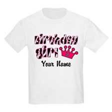 Birthday Girl Zebra T-Shirt
