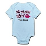 Birthday Girl Zebra Infant Bodysuit