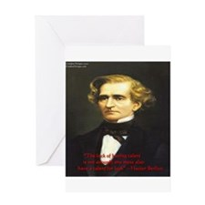 Hector Berlioz Greeting Card