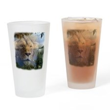 lionlamb.jpg Drinking Glass