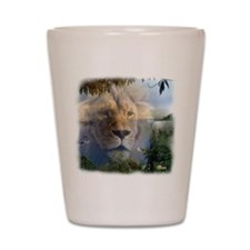 lionlamb.jpg Shot Glass