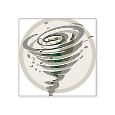 Tornado Square Sticker 3
