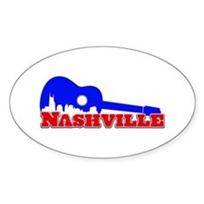 Nashville Oval Decal