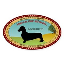 Dachshund [smooth] Decal