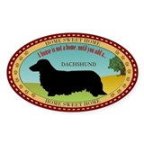 Dachshund [long-haired] Decal