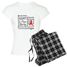 Heart Disease Words Pajamas