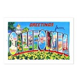 California Greetings Postcards (Package of 8)
