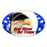 American Citizen Eagle Oval Decal