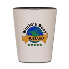 Cute World's greatest husband Shot Glass