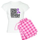 Strength Courage Lupus pajamas