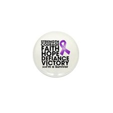 Strength Courage Lupus Mini Button (100 pack)