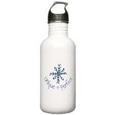 Unique Snowflake Water Bottle