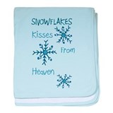Heavenly Snowflakes baby blanket
