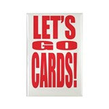 Go Cards Rectangle Magnet (10 pack)