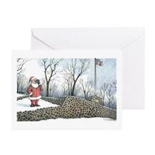 Santa:Washington Rock, Green Brook NJ Card (Pk/10)