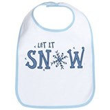 Let It Snow Bib