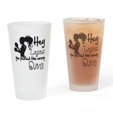 Lupus Picked Wrong Diva Drinking Glass