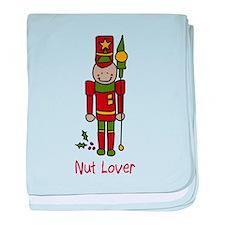 Nut Lover baby blanket