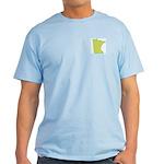 Minnesota Symbol Ash Grey T-Shirt