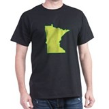 Minnesota Symbol Black T-Shirt
