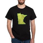 Minnesota Symbol Black T-Shirt