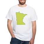 Minnesota Symbol White T-Shirt