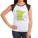 Minnesota Symbol Women's Cap Sleeve T-Shirt