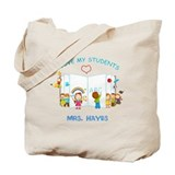Teacher Canvas Totes