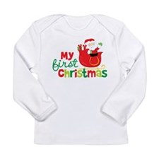 Santa My 1st Christmas Long Sleeve T-Shirt