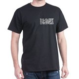 BIG DADDY FOOTBALL  Black T-Shirt