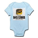 Future Rock Climber like Mommy Body Suit