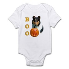 Halloween Smooth Collie Boo Infant Creeper