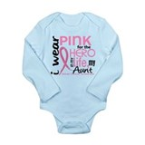 Hero In Life 2 Breast Cancer Body Suit