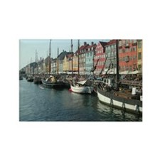 Nyhavn 1 Rectangle Magnet
