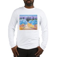 Painting of Les Alpilles Long Sleeve T-Shirt