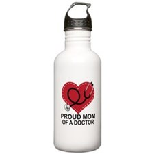 Proud Mom Of A Doctor Water Bottle