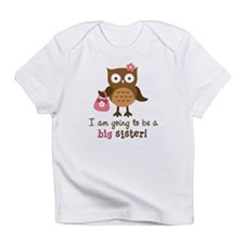 Funny Big sister to be Infant T-Shirt