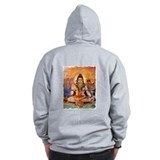 Lord Shiva Meditating Zip Hoody