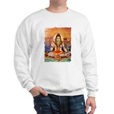 Lord Shiva Meditating Sweatshirt