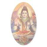 Lord Shiva Meditating Decal
