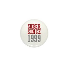 Sober Since 1999 Mini Button (100 pack)