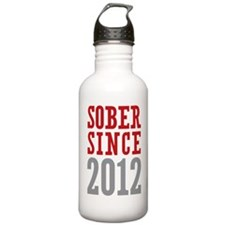 Sober Since 2012 Water Bottle