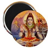 Lord Shiva Meditating Magnet