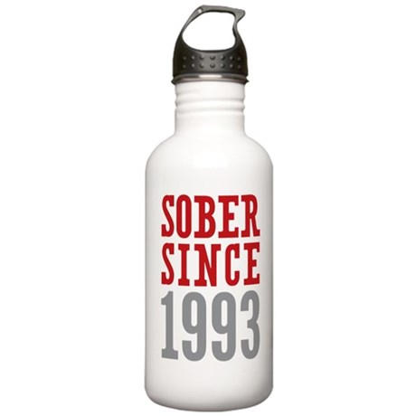 Sober Since 1993 Stainless Water Bottle 1.0L