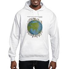Geographic Tapestry Hooded Sweatshirt