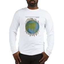 Geographic Tapestry Long Sleeve T-Shirt
