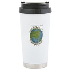 Geographic Tapestry Stainless Steel Travel Mug